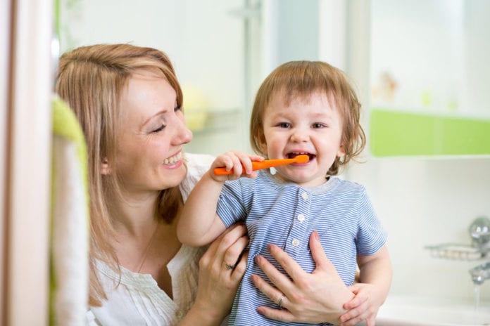 สุขภาพช่องปากเด็ก