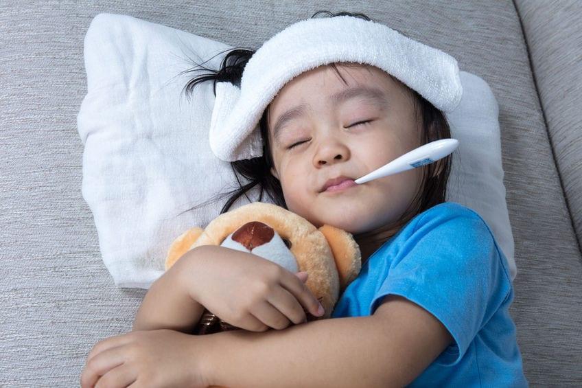 โรคไข้หวัดใหญ่ในเด็ก