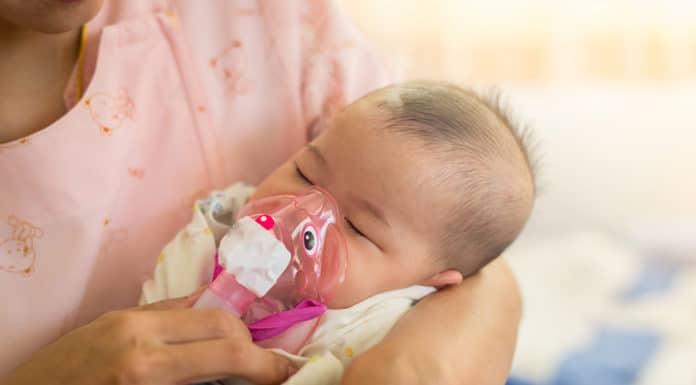 โรคหลอดลมฝอยอักเสบในเด็ก