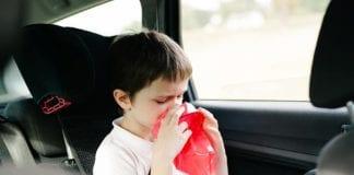 วิธีรับมืออาการเมารถสำหรับเด็ก