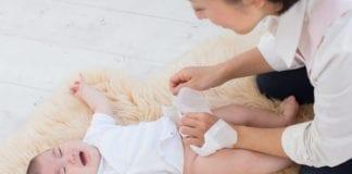 ปัญหาผื่นผ้าอ้อมในเด็ก