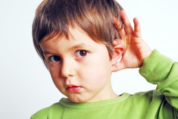 ความบกพร่องทางการได้ยินในเด็ก