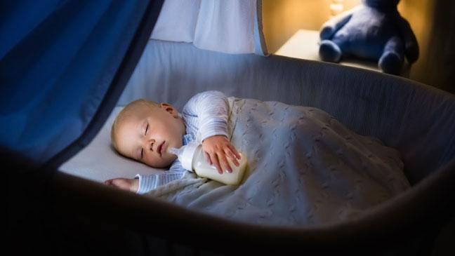 สร้างบรรยากาศการนอนของลูก