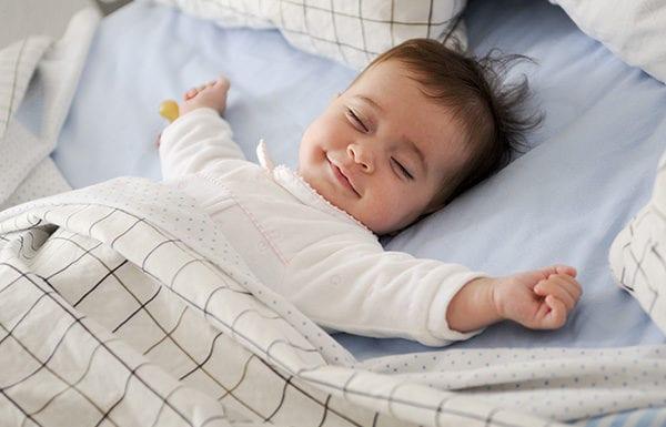 การนอนของลูก