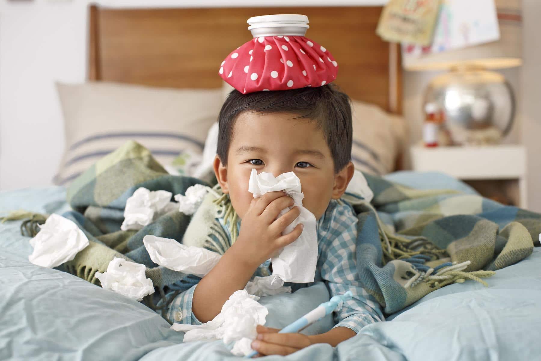 คนป่วยไข้หวัด