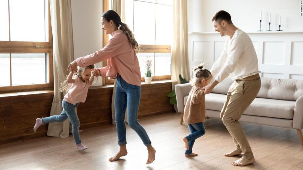 การเต้นหรือการกิจกรรมตามจังหวะ