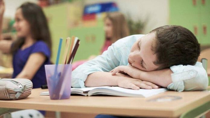 ลูกนอนหลับไม่เพียงพอ