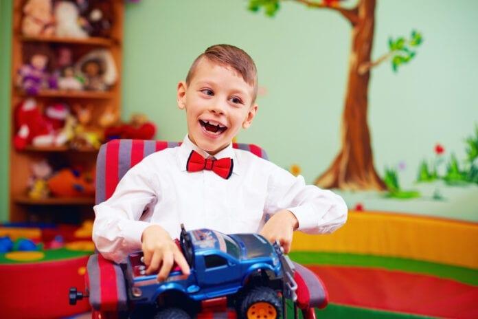 โรคสมองพิการในเด็ก