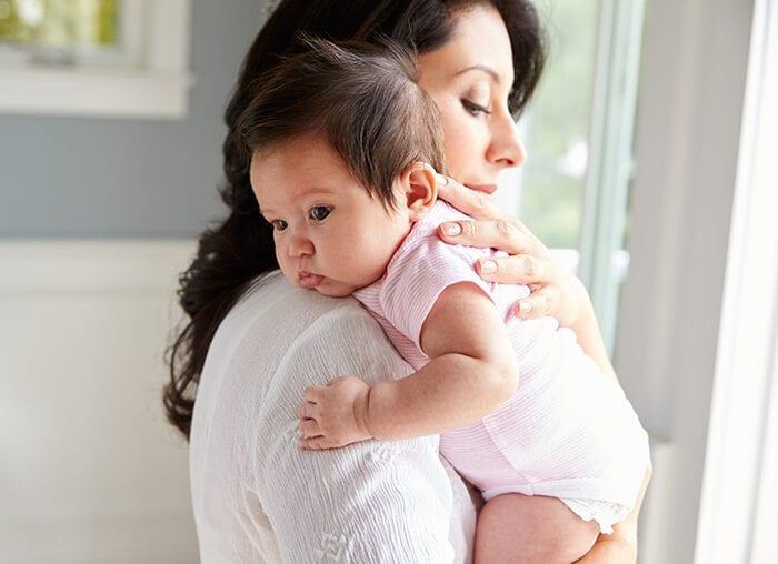 ป้องกันเด็กแหวะนม