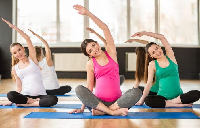 ท่าออกกำลังกายคนท้อง
